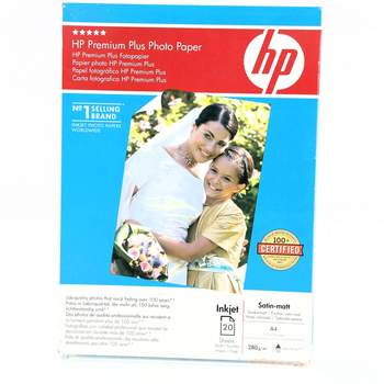 Fotopapír HP Premium Plus Satin-matt