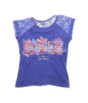 Dívčí tričko modré Y.F.K.