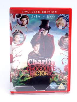 DVD Charlie And The Chocolate Factory