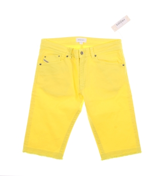 Dětské letní kraťasy Diesel žluté