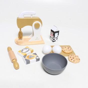 Dětský kuchyňský robot KidKraft 53535 zlatý