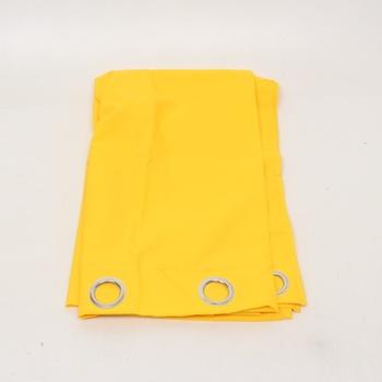 Závěs s oky Today Dolce 140x260cm žlutá