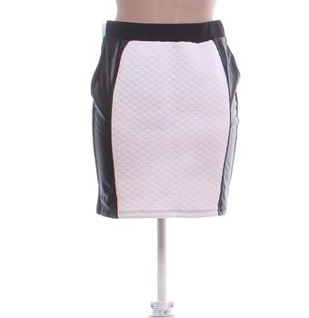 Dámská sukně BodyFlirt černobílá