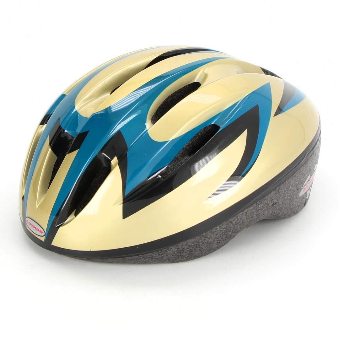 Cyklistická helma Author zlatá
