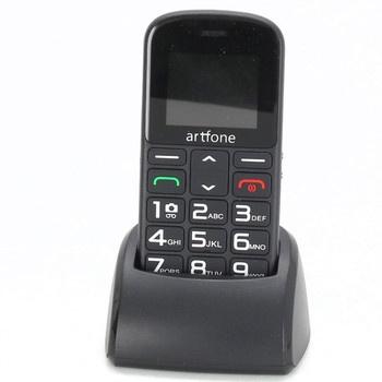 Mobil pro seniory Artfone CS182 černý