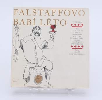 Kniha Jan Werich: Falstaffovo babí léto