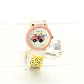 Dětské hodinky Olympia s autíčkem