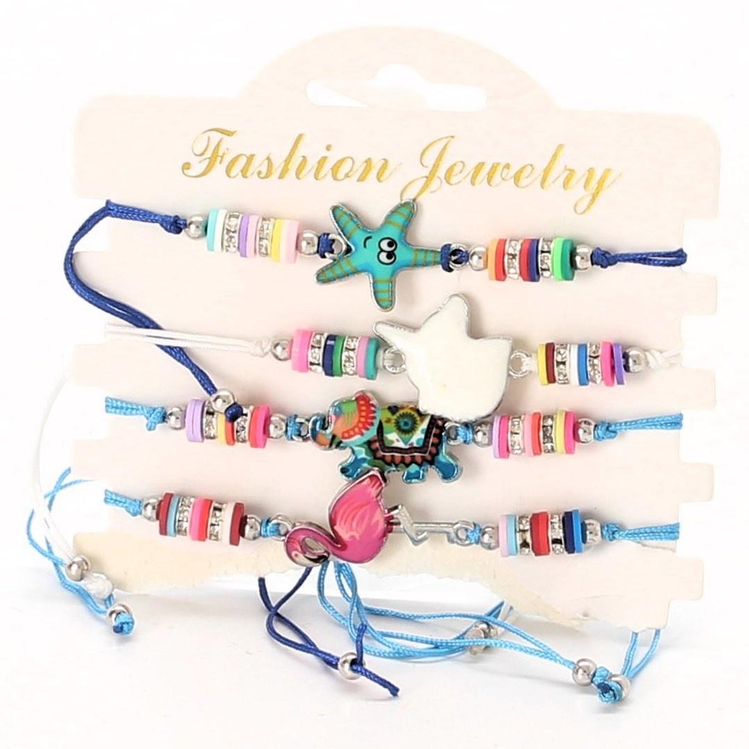 Sada náramků Fashion Jewelry 8 kusů