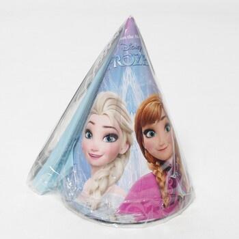 Papírové kloboučky Frozen 6 ks