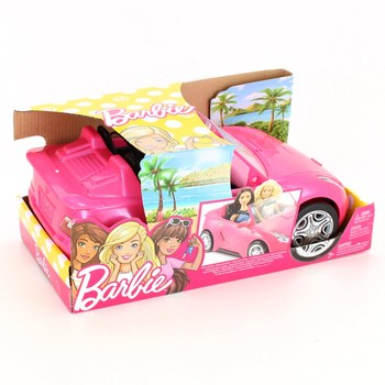 Auto pro panenky Barbie Mattel