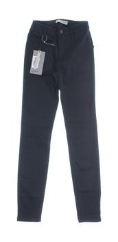 Dámské plátěné kalhoty Vero Moda černé