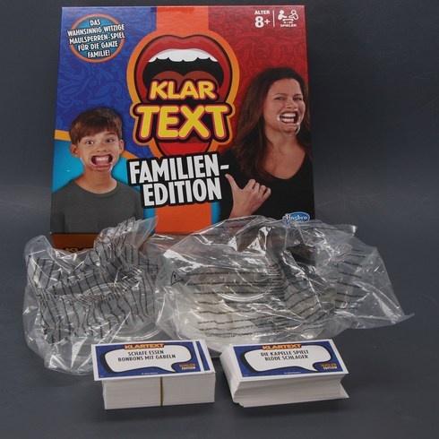 Hra Hasbro Gaming Klartext Familien-Edition