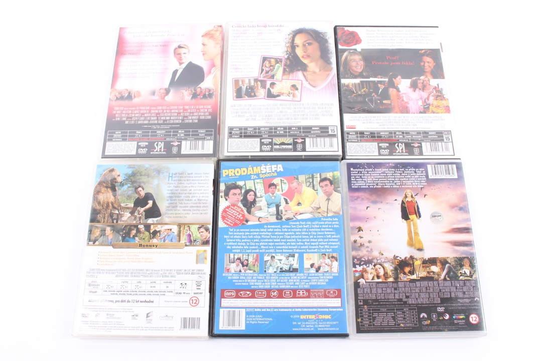 6 filmů na DVD (Morganovi, Prodám šéfa)