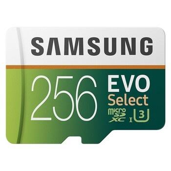 Paměťová karta Samsung 256 GB microSD 100 MB