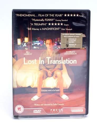 DVD Focus Lost in Translation