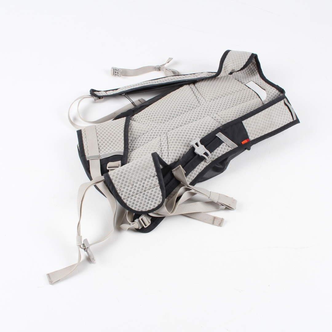 Cyklistický batoh Vaude 40 x 23 cm černý