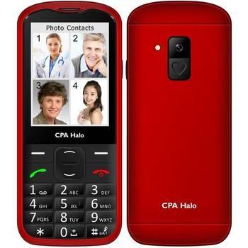 Mobilní telefon Cpa Halo 18 Senior červený