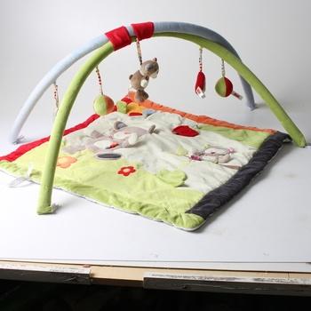 Hrací deka Forest Fun Nuk 3D Activity Quilt