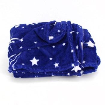 Deka Shing method modrá s hvězdami