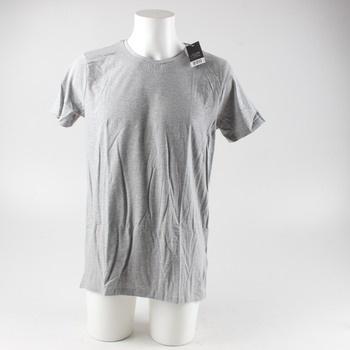 Pánské tričko s krátkým rukávem Livergy šedé