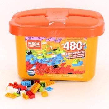 Plastový box Mega Bloks Mega Construx 480 ks