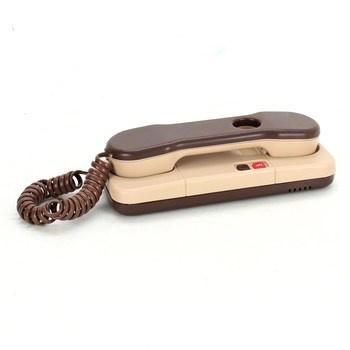 Domovní telefon Tesla Stropkov DT 85 hnědý