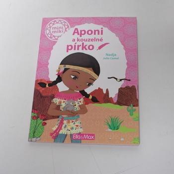 Kniha s aktivitami Aponi a kouzelné pírko