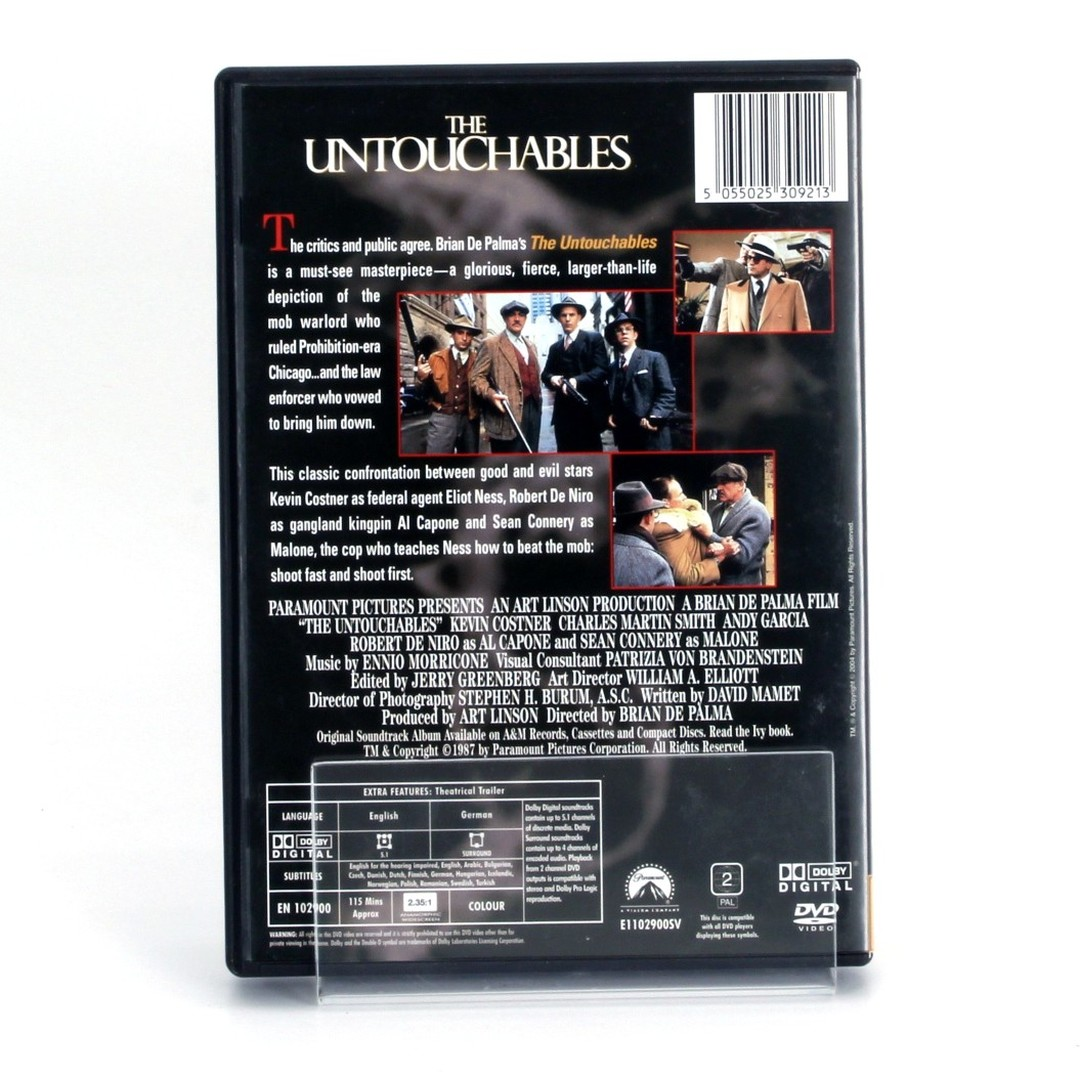 DVD The untouchables Paramount