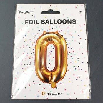 RAPPA Balónek nafukovací číslo 0