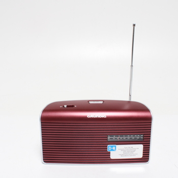Rádio Grundig GRN1540, červené
