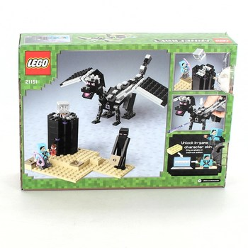 Lego Minecraft 21151 drak