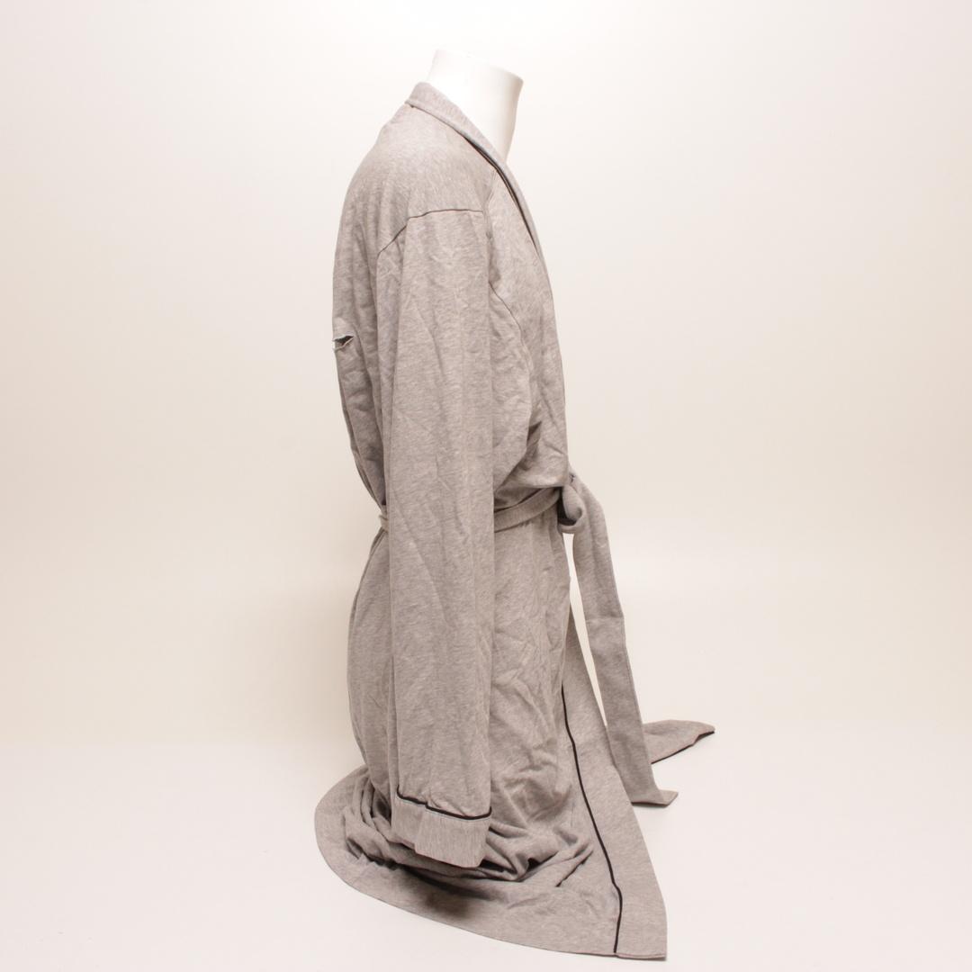 Pánský župan Hugo Boss 50229070 šedý