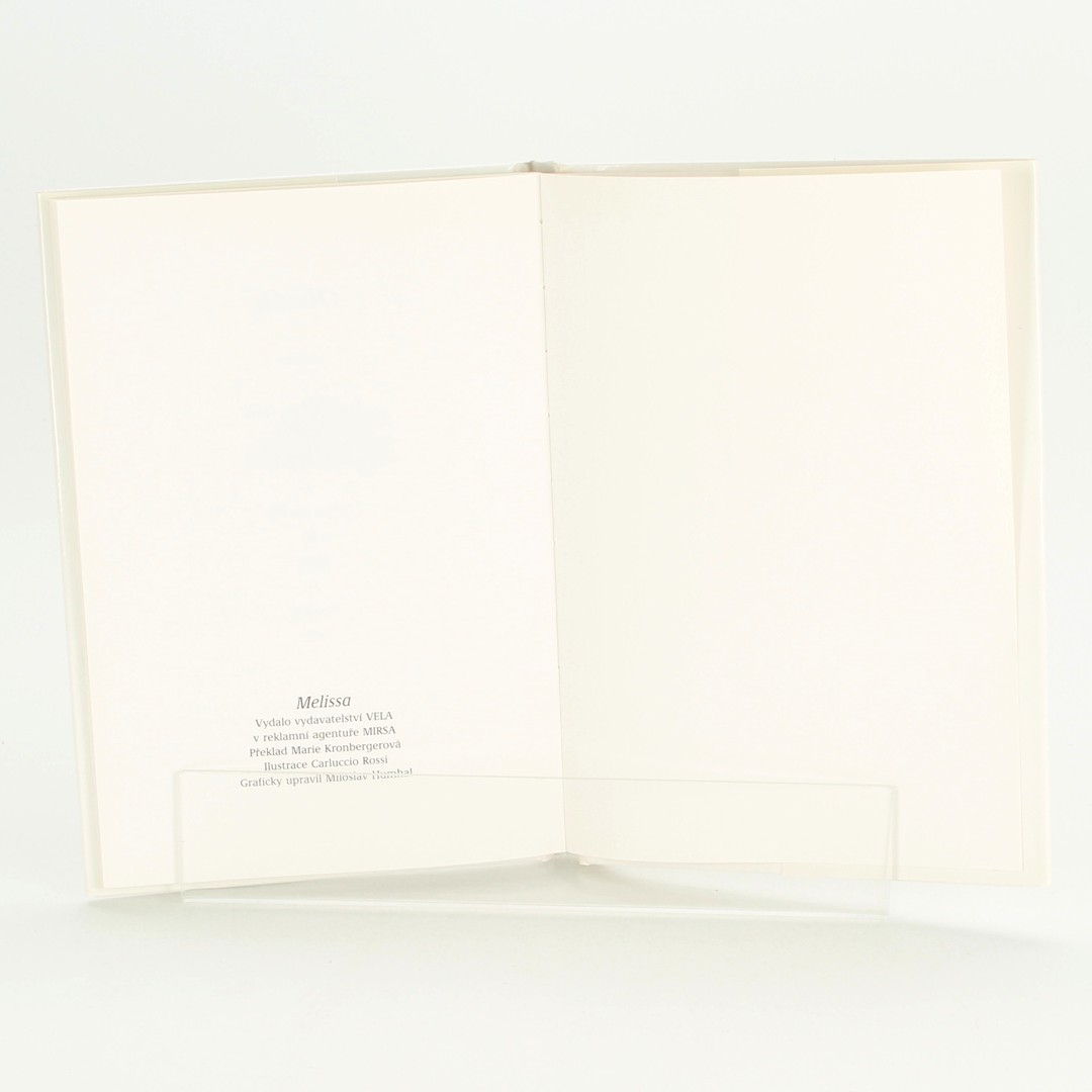 Kniha Melissa  Mara Pavese