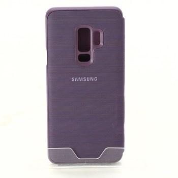 Flipové pouzdro Samsung EF-NG965 fialové