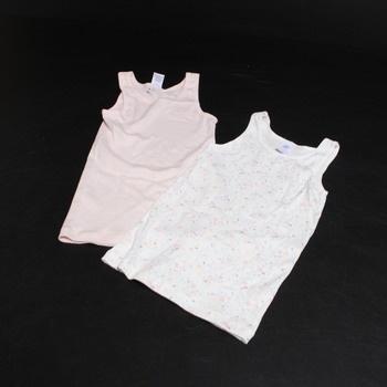 Dívčí spodní košilky Sanetta 334915 2 kusy