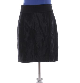 Společenská sukně H&M na kolena černá