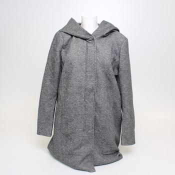 Dámský šedý kabát Only, vel. XXL