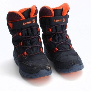 Dětské zimní boty Kamik NF8125 oranžové