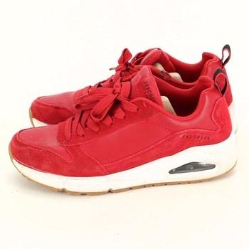 Pánské červené tenisky Skechers