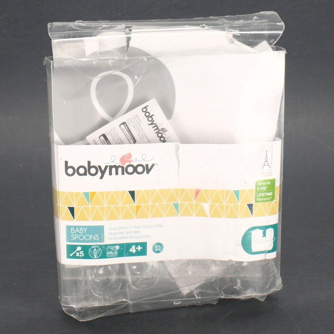 Dětské lžičky Babymoov A102407 Silikon 5ks