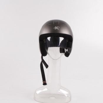 Lyžařská helma Keen šedivá