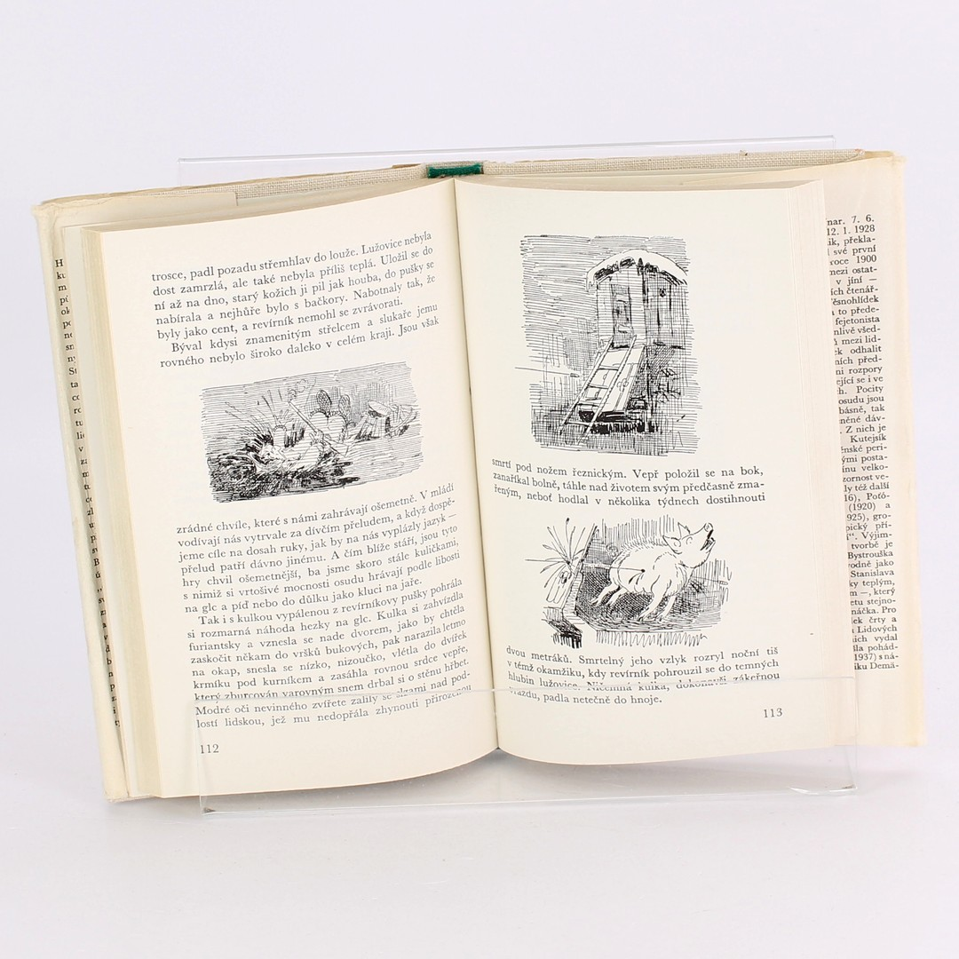 Kniha R. Těsnohlídek: Liška Bystrouška