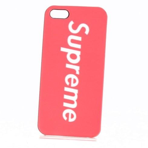 Ochranný kryt Supreme iPhone 5 5s červený - bazar  2696f8370ba