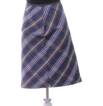 Dámská sukně Oasis fialovomodrá