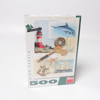 Puzzle 500 DINO Námořní nostalgie
