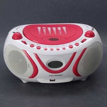 Rádio s CD Metronic 477109