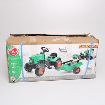 Šlapací traktor Falk 2031AB zelený