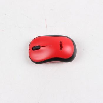 Myš Logitech M220 Silent červená