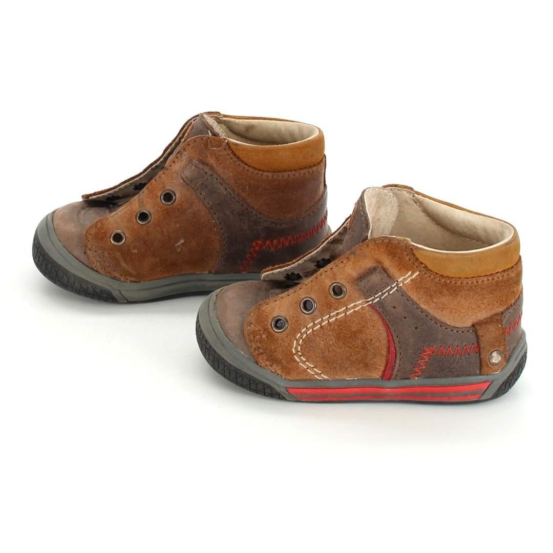 Dětské kotníkové boty Fare hnědé