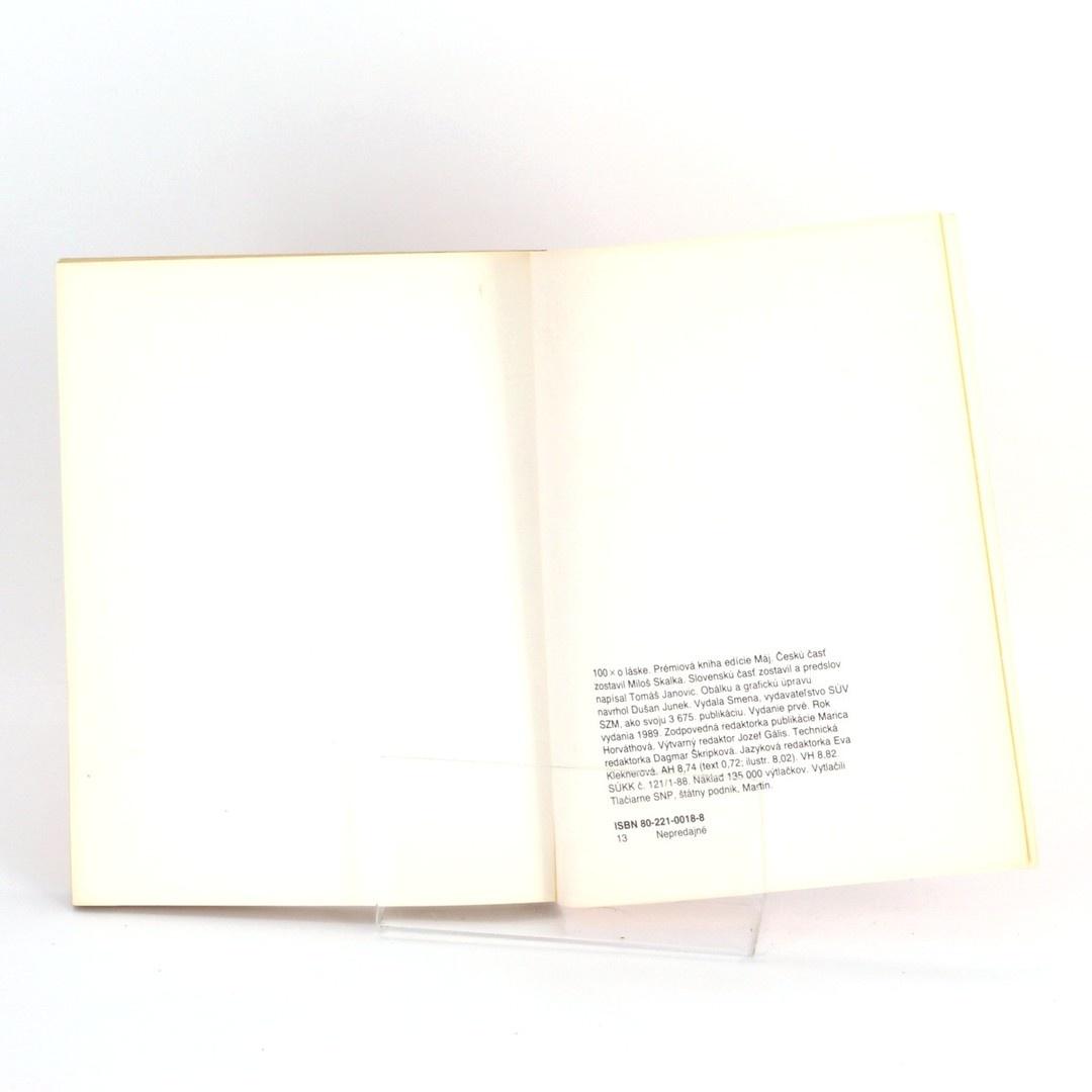 Kniha 100x o láske